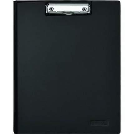 Папка-планшет Attache пластик черный А4