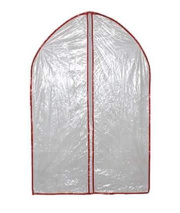 Полиэтиленовый чехол для одежды на молнии (Размер, см: 60х90, Цвет: Прозрачный)