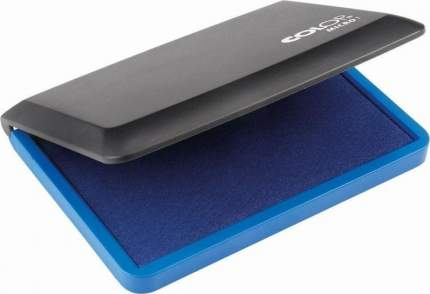 Подушка штемпельная Colop настольная Micro 1 синяя 9х5 см