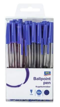 Ручки Aro шариковые синие