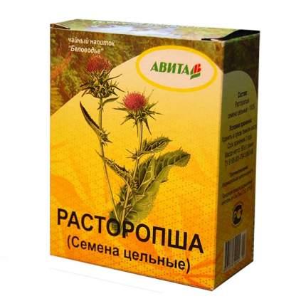 Расторопша семена Авита при заболеваниях печени, гепатите 50 г