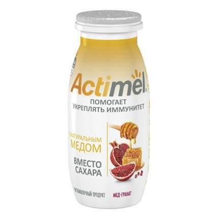 Кисломолочный продукт Actimel мед и гранат 2,2% 95 г