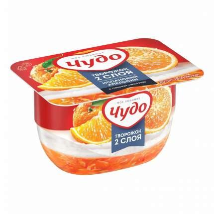 Десерт творожный взбитый Чудо апельсин 4,2% бзмж 100 г