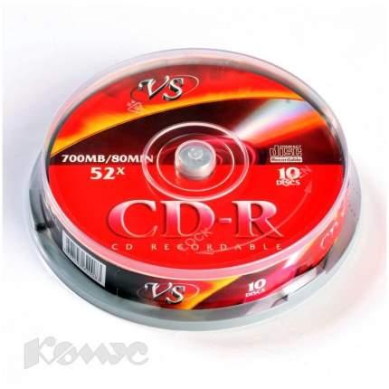 Диск VS CD-R 700 Mb Ink Printable Cake Box 10 шт