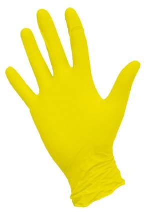 MediOk Nitrile Перчатки нитриловые неопудренные желтые р.M 50 пар
