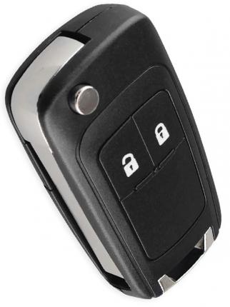 Ключ Opel Astra J Corsa Zafira , Insignia, 2009-2016, 2 кнопки (корпус с лезвием). Tesland