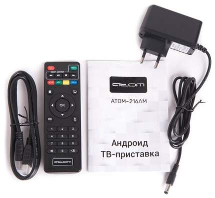 Smart-TV приставка Atom 216AM Smart 2G/16Gb Black
