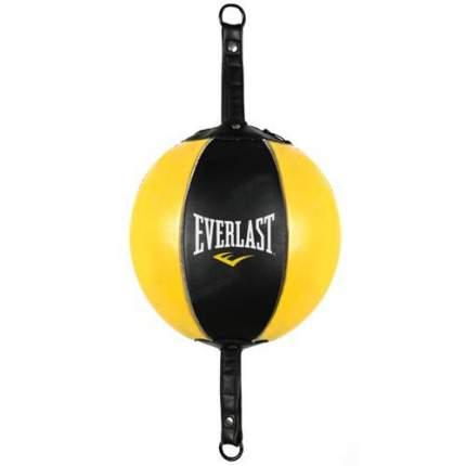 Груша на растяжках Everlast 22.5см черный/желтый