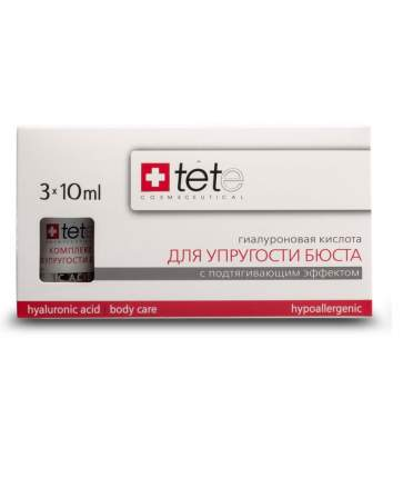 Сыворотка Tete Cosmeceutical Hyaluronic Acid and Neck and Decolette