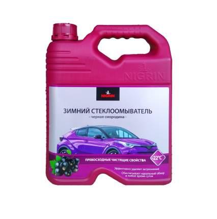 Жидкость для стеклоомывателя Nigrin Violet edition зимняя до -22°C 4 л