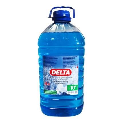 Жидкость для стеклоомывателя Delta зимняя до -10°C 4 л