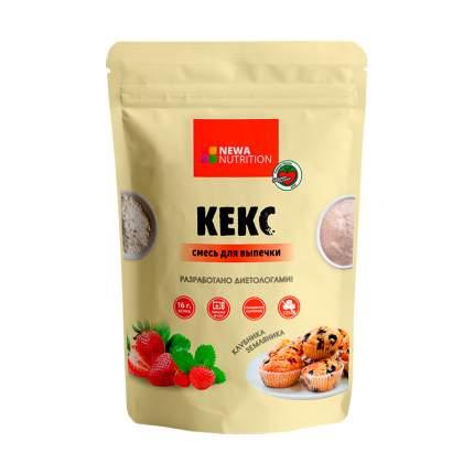 Кекс NEWA Nutrition (смесь для выпечки) (200 г)  - клубника-земляника