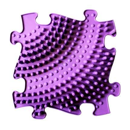 Модульный коврик ИграПол Волна большой фиолетовый