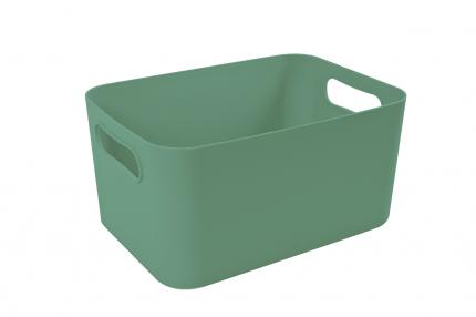 Корзина для хранения Архимед Вега зеленая 3 л
