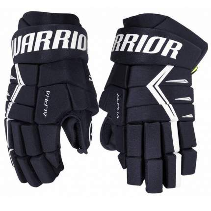 Перчатки хоккейные Warrior Alpha DX5, 11, темно-синий