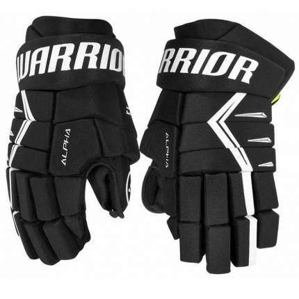 Перчатки хоккейные Warrior Alpha DX5, 14, черный