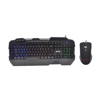 Комплект клавиатура и мышь Hiper TRIBUTE-1