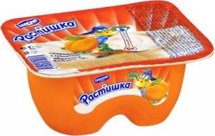 Десерт Растишка творожный абрикос 3,5%