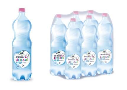 Детская питьевая артезианская вода Черноголовская негазированная с рождения 1,5 л