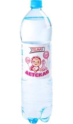 Детская питьевая вода Stelmas Mg негазированная с рождения 1,5 л