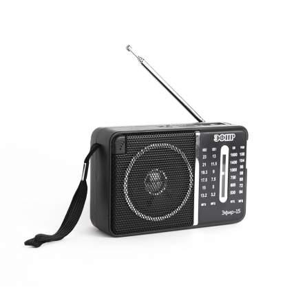 Радиоприемник Сигнал Эфир-15 Black