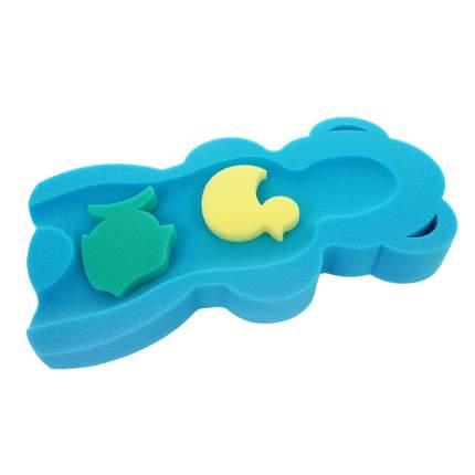 Губка для купания BAMBOLA MAXI/Синий