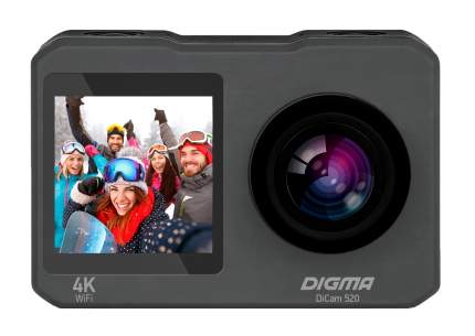 Видеокамера экшн Digma DiCam 520