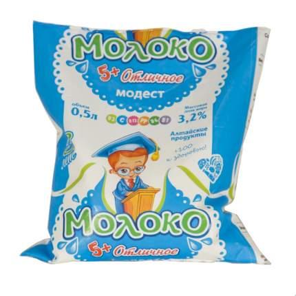 Молоко Модест для детей дошкольного и школьного возраста 3,2% 500 мл