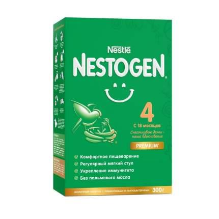 Молочко Nestogen 4 с пребиотиками и лактобактериями с 18 мес 300 г