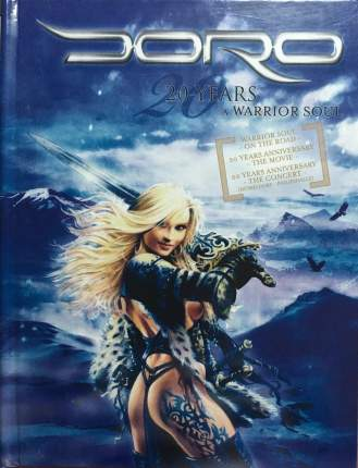 Doro (Warlock) / 20 Years A Warrior Soul (DIGIBOOK 2 DVD + CD)
