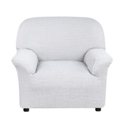 Чехол на кресло Акари гран Светло-серый