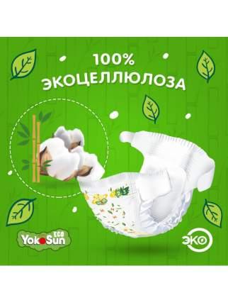 Детские подгузники на липучках YokoSun Eco размер М (5-10 кг), 60 шт.
