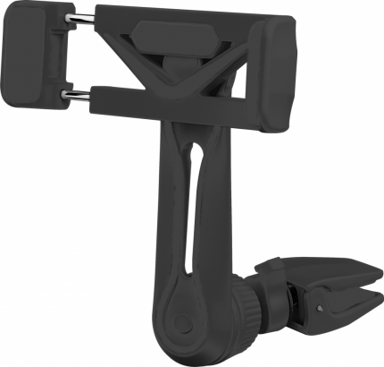 "Автодержатель для смартфона Perfeo до 6,5"" на воздуховод Model_1 черный (NN_3851)"