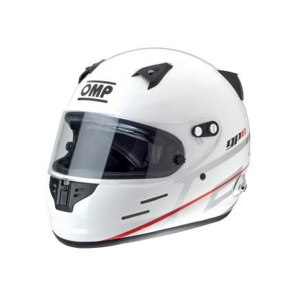 Шлем для автоспорта OMP Racing SC785E020S GP8 EVO закрытый FIA/SNELL HANS белый р S