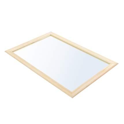Зеркало прямоугольное Банные штучки, липа, 40x60 см