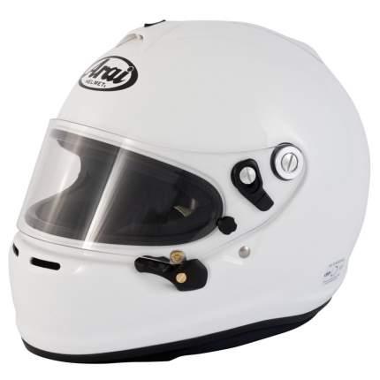 Шлем для автоспорта Arai GP-6S (Snell SA / FIA 8859) белый р L