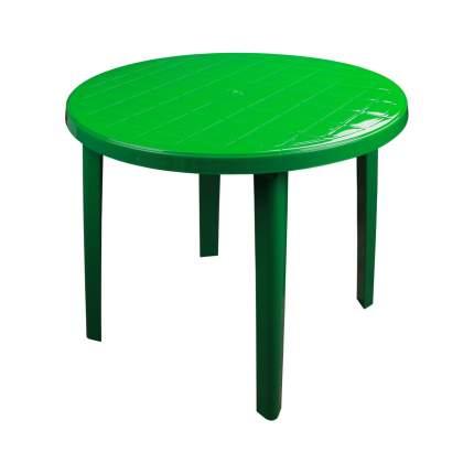 Стол круглый, 900x900x750 мм (зеленый)