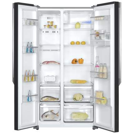 Холодильник Zarget ZSS 570GL Black