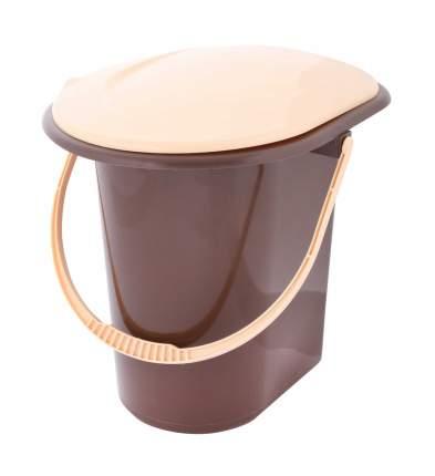 Ведро-туалет, 18 л (коричневый)