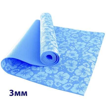 HKEM113-03-BLUE Коврик для йоги 3 мм-Голубой (12)