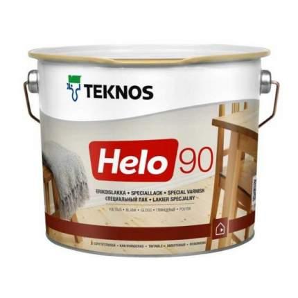 Лак для пола TEKNOS Helo 90 глянцевый (2,7 л)