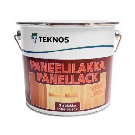 Лак для дерева Teknos Paneelilakka полуматовый (9 л)