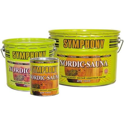Защитный состав для саун Symphony Nordic Sauna / Симфония Нордик Сауна 0,9