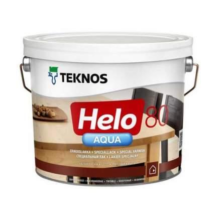 Лак для пола TEKNOS Helo Aqua 80 глянцевый (0.9 л)