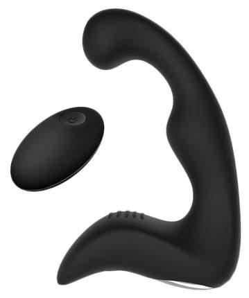 Силиконовый массажер простаты с пультом ДУ Bior toys черный