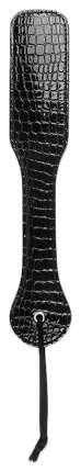 Шлепалка с узором под рептилию 32 см Bior toys черный