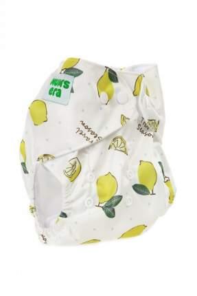 Многоразовый подгузник Mum's Era Лимоны с вкладышем