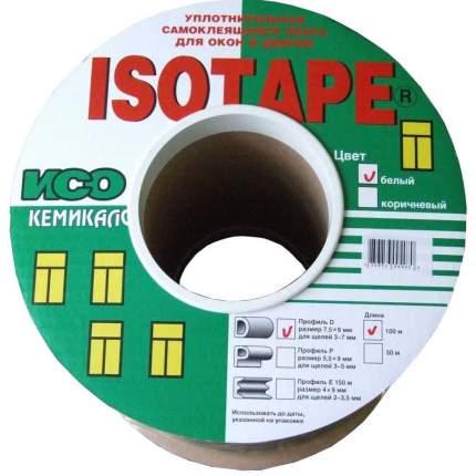 Уплотнитель для окон и дверей Isotape D100, белый