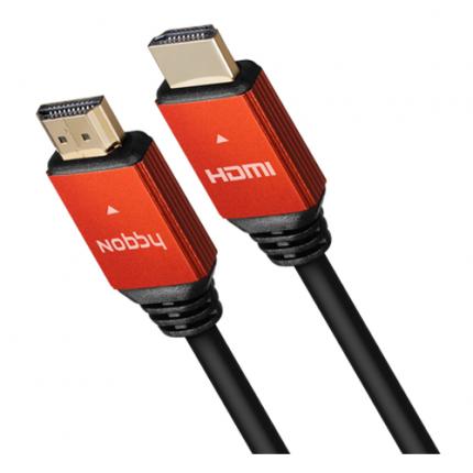 Кабель Nobby HDMI - HDMI 1м Black (NBC-HC-10-01)
