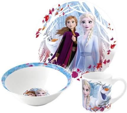 Набор керамической посуды Stor Холодное сердце 2, 3 предмета в подарочной упаковке